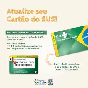 Atualize seu Cartão SUS - Prefeitura de Delfinópolis